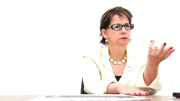 """Empresária e presidente da Acieg, Helenir Queiroz: """"O ajuste fiscal não está controlando a inflação, o que provoca recessão"""""""