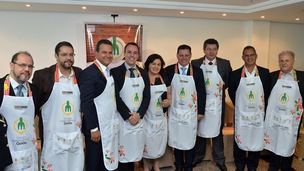 Governador durante o lançamento do Circuito Gastronômico  de Goias | Fotos Eduardo Ferreira