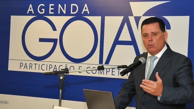Governador Marconi Perillo (PSDB) durante lançamento da 2ª edição do Agenda Goiás: objetivo é projetar o Estado | Foto: Lailson Damásio