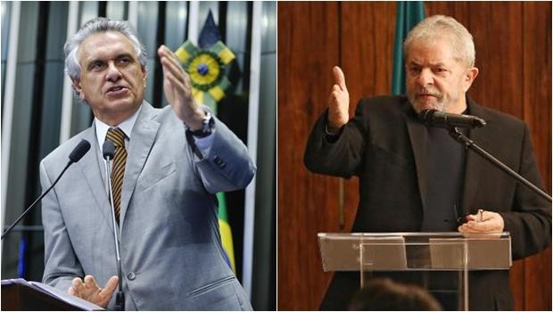 """Lula """"estranha"""" Ronaldo Caiado noticiar pedido de habeas corpus"""