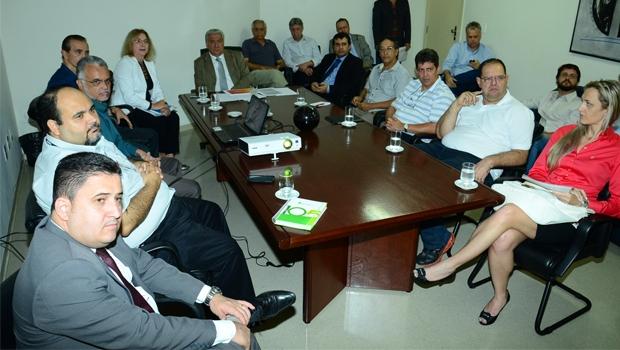 Secretário Vilmar Rocha e eq | Foto: Reprodução