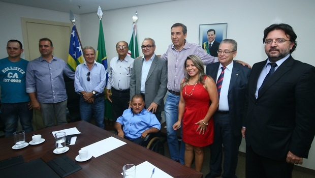 Políticos de Trindade resolveram deixar o PTB por divergências com o comando estadual do partido | Foto: Fernando Leite / Jornal Opção