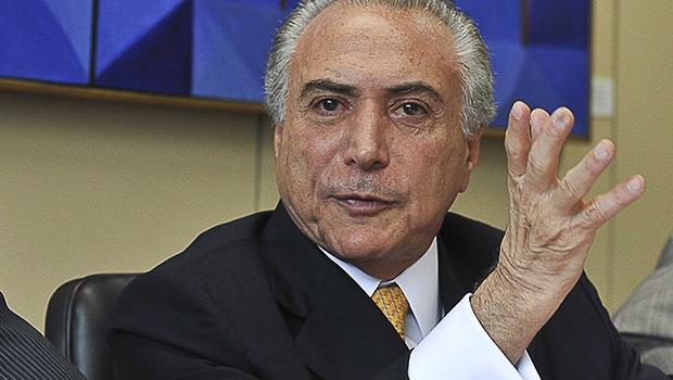Michel Temer: assédio dos políticos mostra que a perspectiva de poder do peemedebista é cada dia mais real | Marcello Casal Jr./ABR