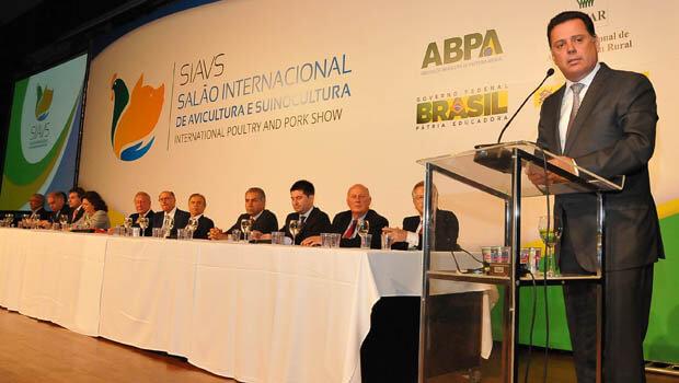 Marconi destaca agronegócio goiano em encontro internacional