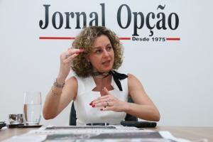 Secretária da Fazenda, Ana Carla Abrão | Foto: Fernando Leite/ Jornal Opção