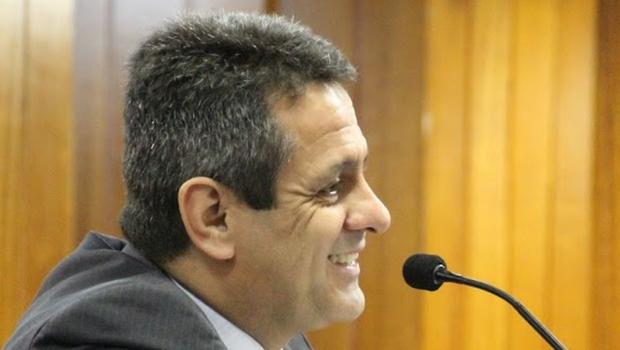 Denício Trindade propôs a CEI da Saneago, que fica para agosto | Foto: Alberto Maia/Câmara de Vereadores