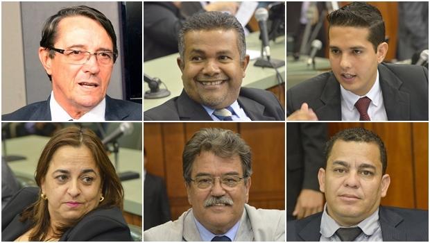 79dfa110d937e Deputados estaduais Valcenor Braz, Santana Gomes, Zé Antônio, Eliane  Pinheiro, Júlio da