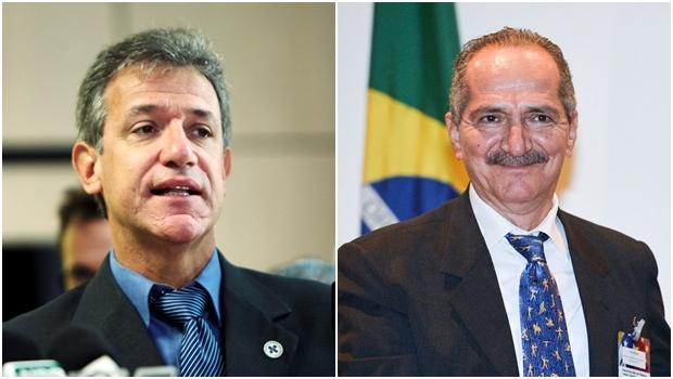 Ministros Artur Chioro e Aldo Rebelo | Fotos: Ministério da Saúde e Agência Brasil