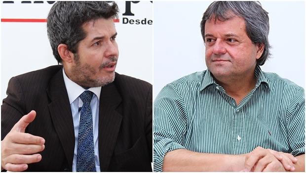 Delegado Waldir tem eleitorado  / Jayme Rincón é uma aposta tucana | Fotos: Fernando Leite/ Jornal Opção
