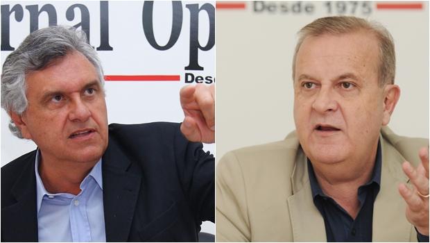 Iristas que apoiam Daniel Vilela dizem que Ronaldo Caiado pode se tornar o novo Paulo Garcia