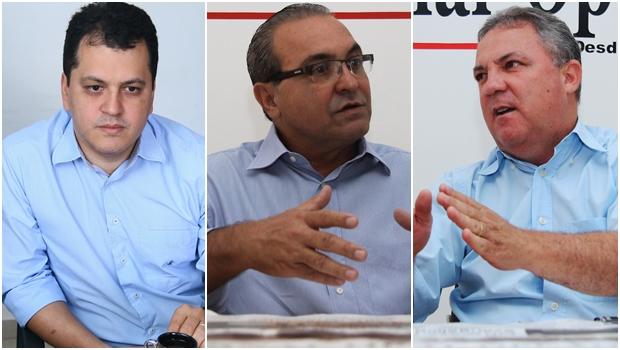 Jânio Darrot, Misael Oliveira e Agenor Mariano: interação total