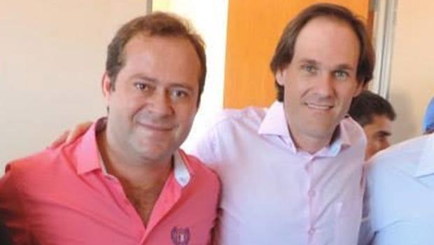 Vereador Orestes da Habitação (PMN) e o futuro prefeito de Rio Verde, Lissauer Vieira -- é o que garante a base do prefeito Juraci Martins   Foto: reprodução / Facebook