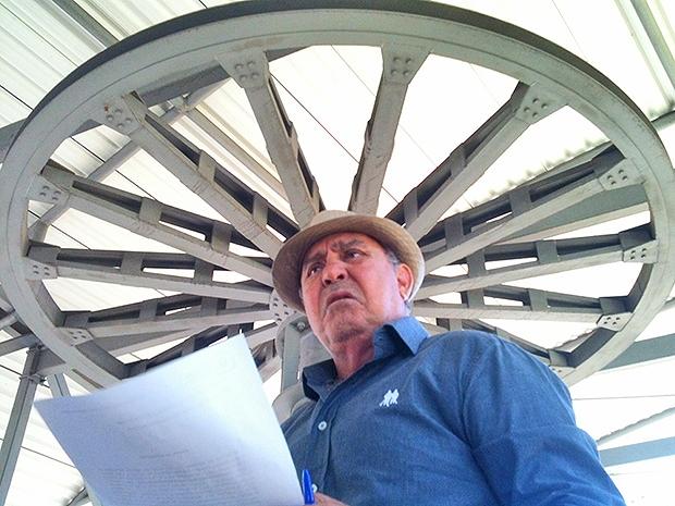 Presidente da Agetul, Sebastião Peixoto (PMDB) detalha obras do teleférico