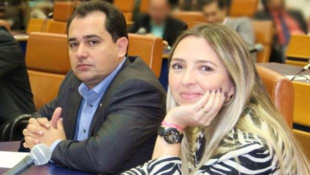 Deivison Costa (PTB) e Tatiana Lemos (PCdoB) foram os mais faltosos | Foto: Eduardo Noguieira/Câmara de Goiânia