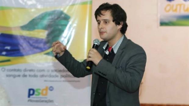 Valério Luiz Filho, o candidato do PSD é um dos nomes da renovação | Foto: Divulgação