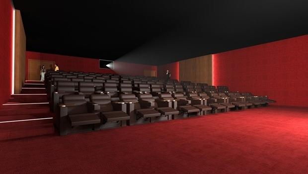 Projeto do novo cinema do Centro Cultural Oscar Niemeyer   Foto: Reprodução Facebook