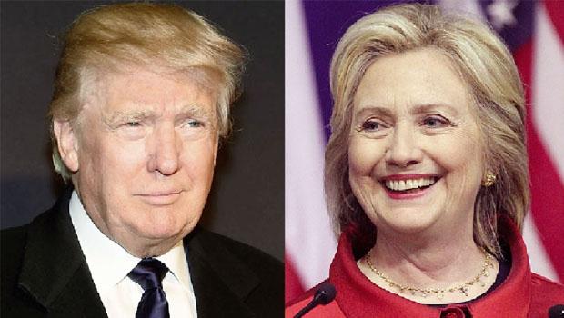 Trump e Hillary: os adversários na eleição que vai promover um sopro na biruta ideológica do mundo
