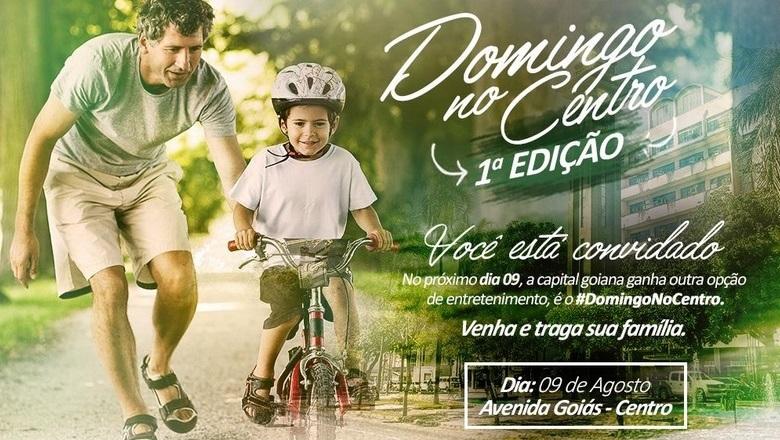 Prefeitura promove Domingo no Centro em comemoração ao Dia dos Pais