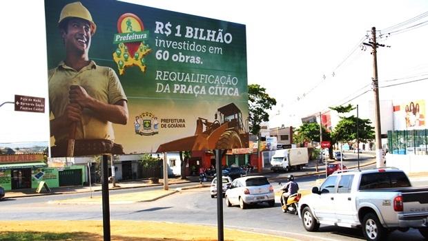 Para vereador, placas vão contra a sustentabilidade, bandeira defendida pelo prefeito Paulo Garcia | Foto: Marcelo do Vale/Câmara Municipal