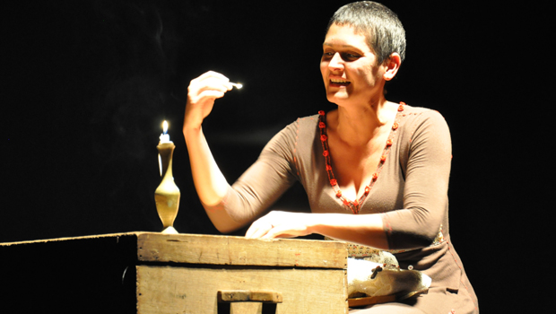 Atriz maranhense Lília Diniz apresenta espetáculo dedicado à Cora Coralina