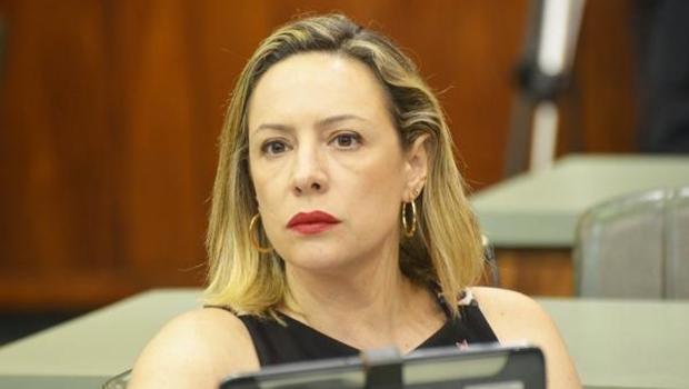 Deputada Delegada Adriana Accorsi , do PT   Foto: Marcos Kennedy/Assembleia Legislativa