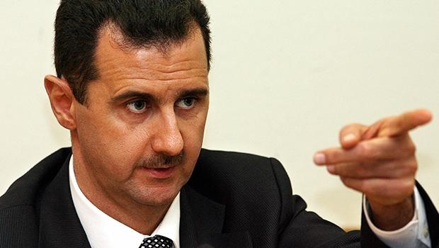 Bashar al-Assad: situação  do ditador na guerra nunca esteve tão ruim e seus dias parecem estar contados | Foto: Yuri  Kadobnov/AFP
