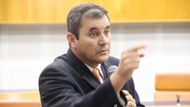 Vereador Clécio Alves, do PMDB   Foto: Alberto Maia / Câmara Municipal de Goiânia