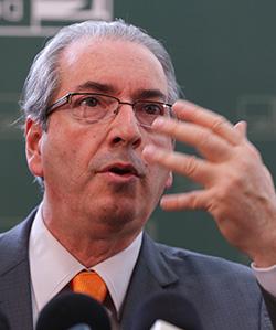 """Eduardo Cunha, presidente da Câmara dos Deputados: """"É apenas jogo de espuma"""""""