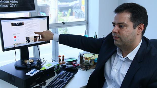 Delegado Eduardo Prado: cotado para presidir a Câmara Municipal de Goiânia