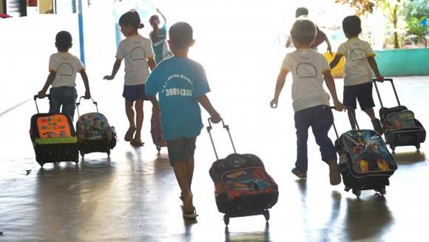 Portal do MEC diz qu e 18,6% das crianças de 4 e 5 anos estão fora das salas de aula   Foto: Elza Fiúza/Agência Brasil