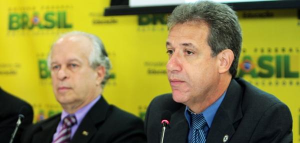Ministros Renato Janine e Arthur Chioro, da Educação e Saúde: Cadastro Nacional de Especialistas | Foto MiS