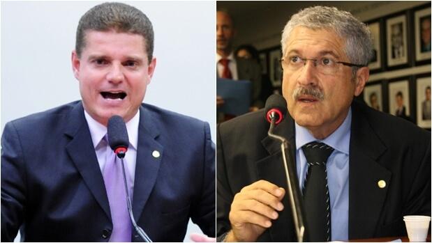 Marcos Rotta (esquerda) foi eleito unanimemente para a presidência da Comissão; José Rocha é o relator | Foto: Foto: Lucio Bernardo Junior/Câmara dos Deputados; Akimi Watanabe