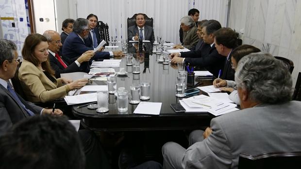 Renan Calheiros se reúne com líderes partidários | Foto: Lula Marques / Agência PT
