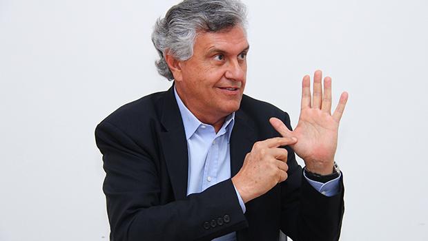 A hérnia de disco arranhado de Ronaldo Caiado