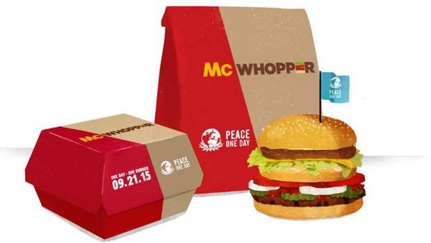 """Em tom ríspido, McDonald's rejeita proposta do Burger King para criar """"McWhooper"""""""