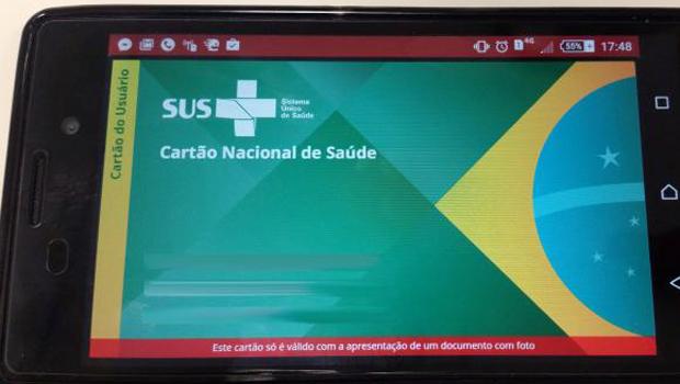 Ministério da Saúde lança versão digital do Cartão SUS