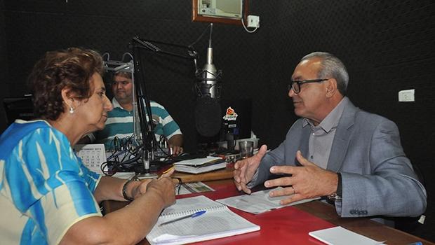 """Jânio Darrot, na Rádio Trindade FM: """"Satisfação é ver a cidade arrumada"""""""