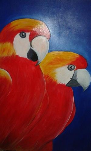 Com a exposição, o artista propõe chamar a atenção da população a respeito da extinção de alguns animais