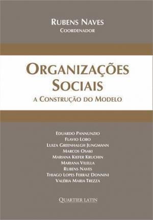 Capa do livro Organizações Sociais - a construção do modelo