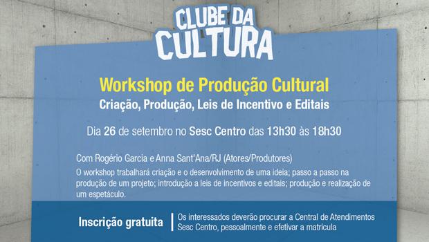 Cariocas Anna Sant´Ana e Rogério Garcia ministram workshop no Sesc Centro