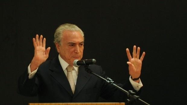 Vice-presidente da República estará em Goiânia para fortalecer candidaturas próprias do PMDB nas eleições municipais | Foto: José Cruz/ Agência Brasil