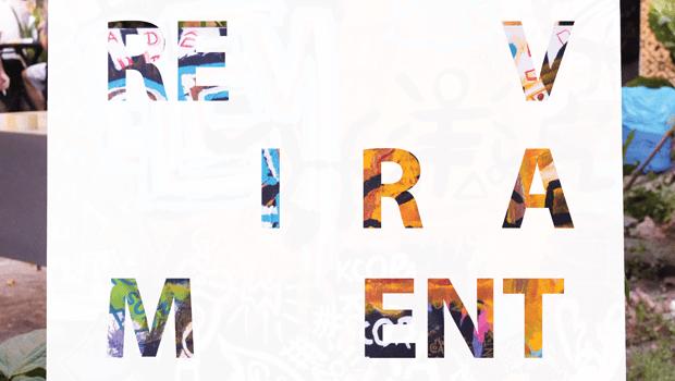 """""""Reviramento"""", de Dakí e Heiridiane Milhomem, em exposição no Evoé Café com Livros"""