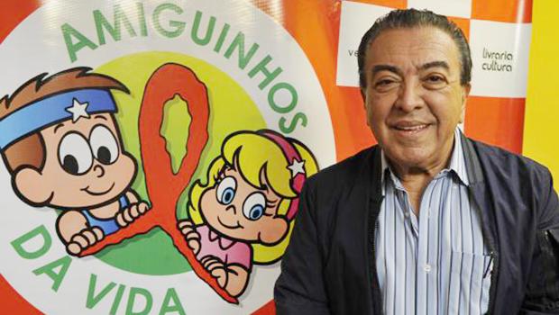 Bienal Internacional do Livro homenageia o desenhista Maurício de Souza