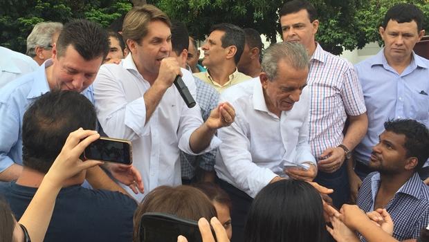 Iris é o candidato do PMDB, garante Bruno Peixoto