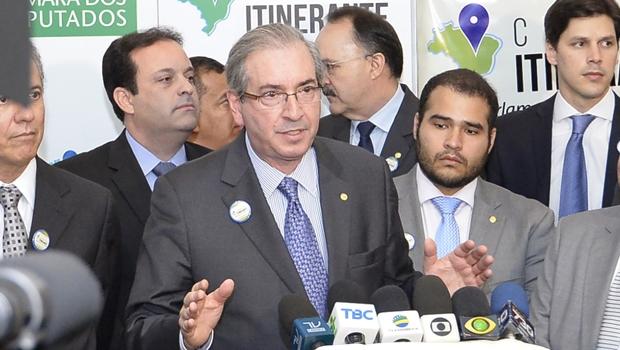 Presidente da Câmara, Eduardo Cunha, tem conta bancária na Suíça