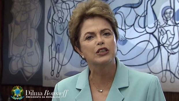 Dilma mandou recado para a oposição | Foto: reprodução / vídeo