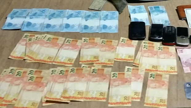 PM impediu que assaltantes levassem dinheiro | Foto: Divulgação/PM