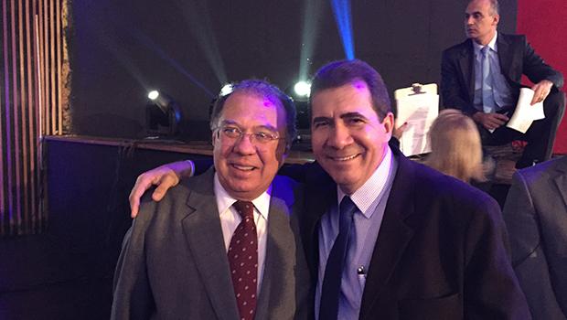 João Gomes e Frederico Jayme: uma imagem vale mais que mil palavras