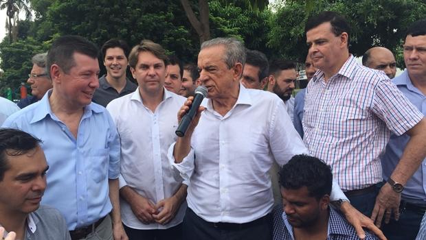 Vice de Iris à Prefeitura de Goiânia será do PMDB. Caiado está fora da jogada