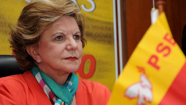 Lúcia Vânia confirma possibilidade de candidatura ao governo de Goiás em 2018